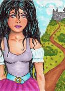 ACEO-Castle-Girl