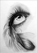 feathered-eye